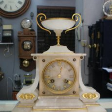Relojes de carga manual: BELLO Y ELEGANTE RELOJ FRANCES SIGLO XIX.. Lote 27096748