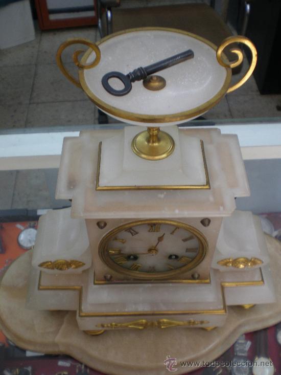 Relojes de carga manual: BELLO Y ELEGANTE RELOJ FRANCES SIGLO XIX. - Foto 6 - 27096748