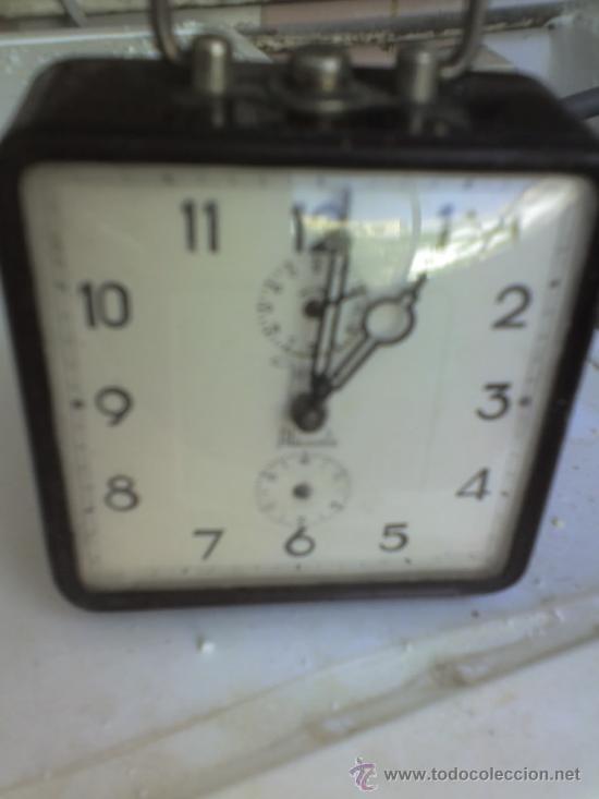 RELOJ ANTIGUO - GOMIS- ALICANTE- JOYERIA GOMIS (Relojes - Sobremesa Carga Manual)