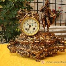 Relojes de carga manual: RELOJ SOBREMESA MAQUINA PARIS. Lote 17486447