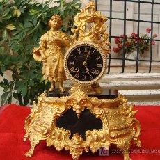 Relojes de carga manual: RELOJ SOBREMESA,MAQUINA PARIS. Lote 27142752