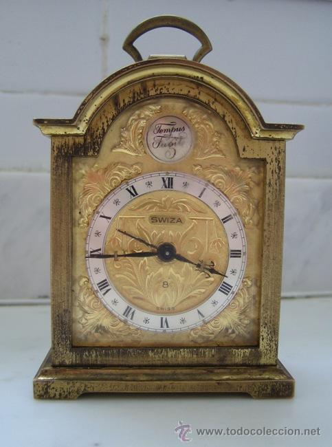 c672ed000825 Reloj despertador swiza 8 - Vendido en Venta Directa - 18070583