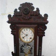 Relojes de carga manual: RELOJ DE PARED Y SOBREMESA AMERICANO. Lote 20098484