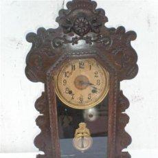 Relojes de carga manual: RELOJ DE SOBREMESA Y DE COLGAR CAPILLA. Lote 18488094