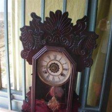 Relojes de carga manual: RELOJ DE SOBREMESA Y COLGAR USA. Lote 18634272