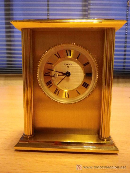 fb2ab3730af5 7 fotos RELOJ DE SOBREMESA SWIZA 8 (Relojes - Sobremesa Carga Manual) ...