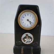 Relojes de carga manual: RELOJ DE SOBREMESA DE PORCELANA JLSE. Lote 20627311