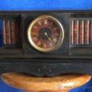 Relojes de carga manual: RELOJ DE CHIMENEA JAPY FREDES PARIS AÑO 1880. Lote 26266527