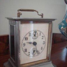 Relojes de carga manual: ANTIGUO RELOJ DE CABECERA DESPERTADOR - APROX 14 X 13 X9 CM. Lote 54313998