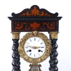 Relojes de carga manual: RELOJ DE SOBREMESA S.XIX. MAQUINARIA SIN MANIPULAR, 48 X 25 CM.. Lote 22115693