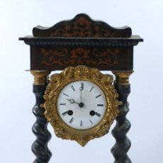Relojes de carga manual: RELOJ DE SOBREMESA ISABELINO 44 CM ALTURA, . POR RESTAURAR. Lote 22201976