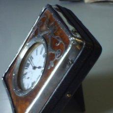 Relojes de carga manual: ANTIGUO RELOJ SUIZO LEPINE CON ESTUCHE PLATA LABRADA - PUNZON INGLES 1909 - PERFECTO FUNCIONAMIE. Lote 22839116