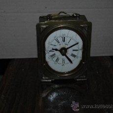 Relojes de carga manual: ANTIGUO RELOJ SOBREMESA FUNCIONANDO. Lote 23136282