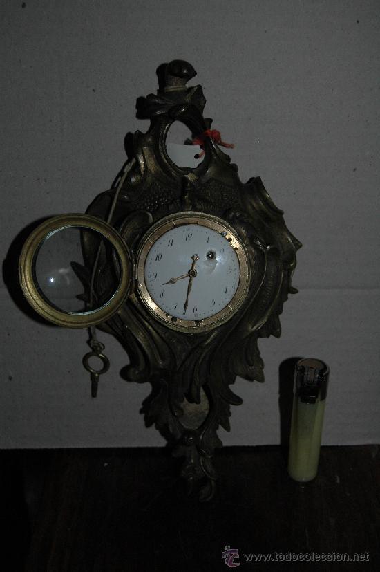 Relojes de carga manual: ANTIGUO RELOJ SOBREMESA FUNCIONANDO - Foto 2 - 23136282