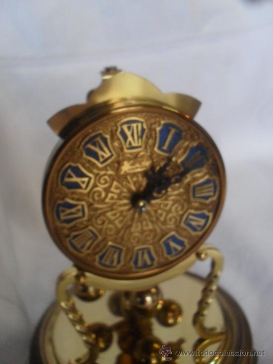 Relojes de carga manual: RELOJ KUNDO CON CUPULA DE CRISTAL 400 DIAS - Foto 4 - 24114491