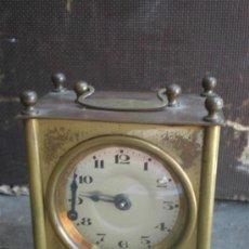 Relojes de carga manual: RELOJ DE SOBREMESA DE METAL. Lote 170966374