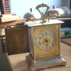 Relojes de carga manual: RELOJ ANTIGUO Y AUTENTICO RELOJ SOBREMESA .NO FUNCIONA.. Lote 43241791