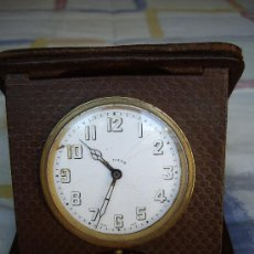 Relojes de carga manual: ANTIGUO RELOJ SUIZO ESCRITORIO ESCRIBANÍA. Lote 27051599