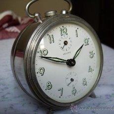 Relojes de carga manual: RELOJ ANTIGUO SOBREMESA KIENZLE MADE GERMAY AÑOS 50. Lote 27712240