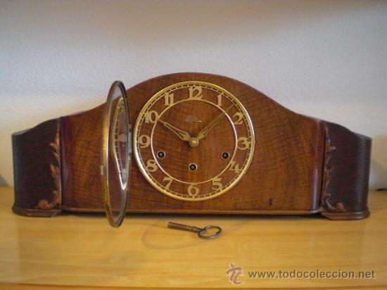 Reloj antiguo aleman chimenea mesa sobremesa c comprar - Chimenea de mesa ...