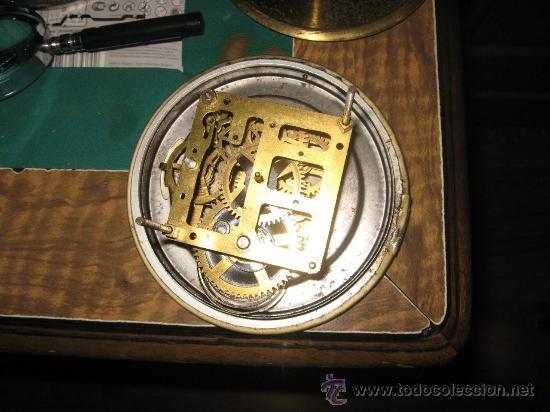 Relojes de carga manual: Reloj de mesa en marmol varios colores Art Deco Funcionando con llave 33 cm ancho, 22,5 alto 8 cm. f - Foto 2 - 27406604