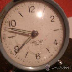 Relojes de carga manual: ANTIGUO RELOJ DESPERTADOR RETRO VINTAGE - DE CARGA MANUAL - TODAVÍA FUNCIONA / FABRICACIÓN ESPAÑOLA. Lote 29239963