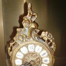 Relojes de carga manual: RELOJ DE BRONCE CON MAQUINARIA QUARTZ. PARA RESTAURAR O PIEZAS.. Lote 27712896