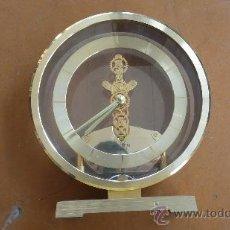 Relojes de carga manual: RELOJ DE SOBREMESA MARCA RHYTHM QUARTZ DE JAPON, AÑOS 60S. . Lote 29707047