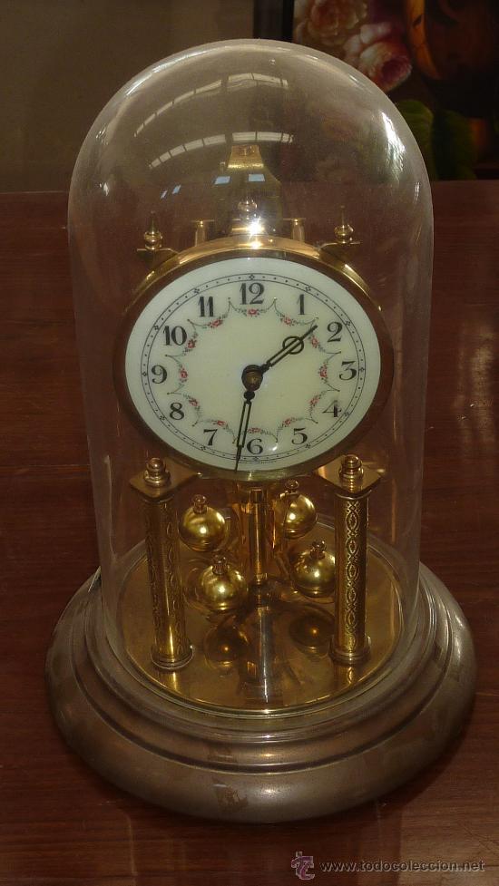 Reloj de sobremesa 400 dias cuerda aleman ant comprar - Relojes antiguos de mesa ...