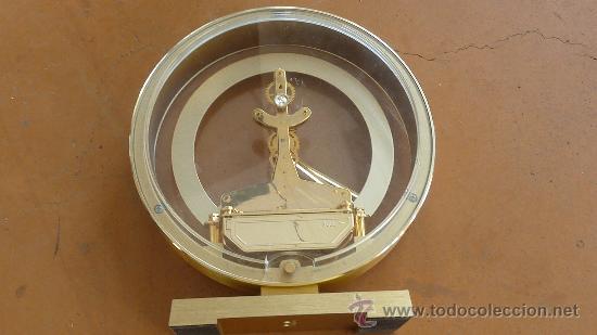 Relojes de carga manual: Reloj de sobremesa marca Rhythm quartz de Japon, años 60s. - Foto 6 - 29707047