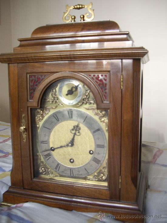 Relojes de carga manual: Antiguo Reloj Frances perfecto estado. - Foto 10 - 29860994