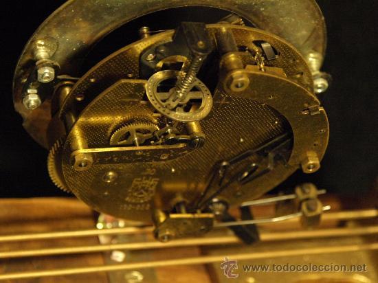 Relojes de carga manual: Curioso reloj de chimenea - Foto 3 - 30751575