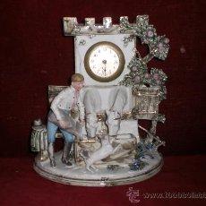 Relojes de carga manual: PRECIOSO Y ANTIGUO RELOJ DE BISCUIT DE MANUFACTURA ALEMANA DE LA MARCA MERCEDES. Lote 31575033