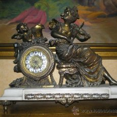 Relojes de carga manual: RELOJ FRANCES CALAMINA S.XIX LOUIS XVI. Lote 31925129