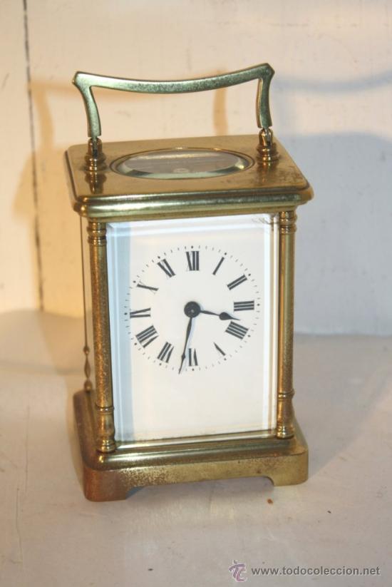 RELOJ CARRUAJE FRANCES BRONCE (Relojes - Sobremesa Carga Manual)