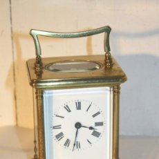 Relojes de carga manual: RELOJ CARRUAJE FRANCES BRONCE. Lote 31952811