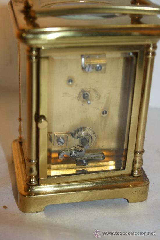 Relojes de carga manual: RELOJ CARRUAJE FRANCES BRONCE - Foto 2 - 31952811