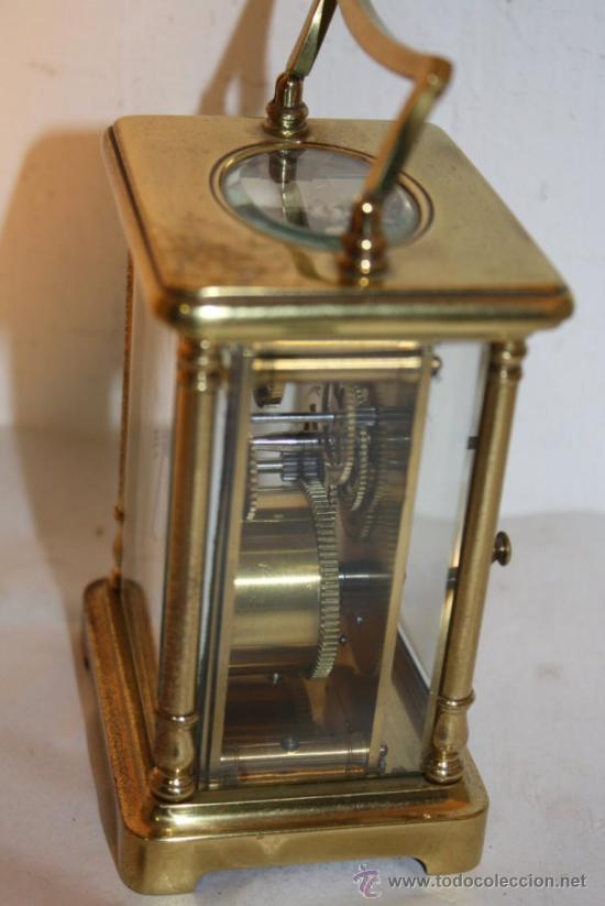 Relojes de carga manual: RELOJ CARRUAJE FRANCES BRONCE - Foto 3 - 31952811