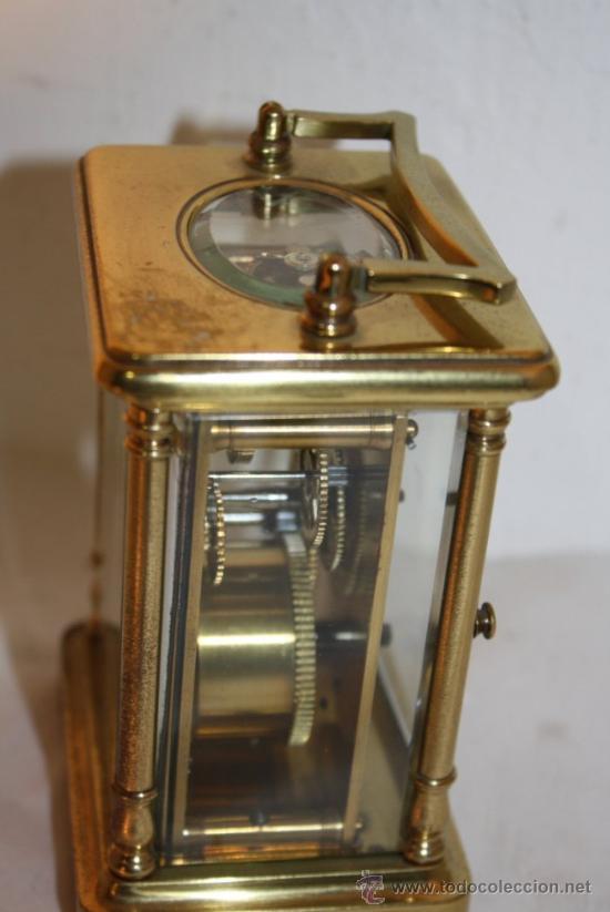 Relojes de carga manual: RELOJ CARRUAJE FRANCES BRONCE - Foto 4 - 31952811