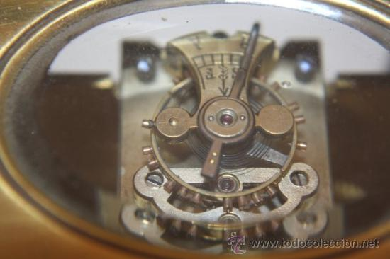 Relojes de carga manual: RELOJ CARRUAJE FRANCES BRONCE - Foto 5 - 31952811