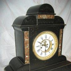 Relojes de carga manual: PRECIOSO RELOJ ANTIGUO DE MÁRMOL. Lote 32061572