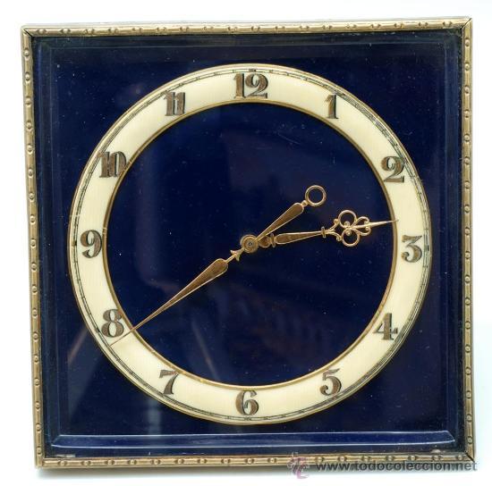 RELOJ SOBREMESA A CUERDA DECÓ FUNCIONA (Relojes - Sobremesa Carga Manual)