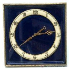Relojes de carga manual: RELOJ SOBREMESA A CUERDA DECÓ FUNCIONA. Lote 33059916