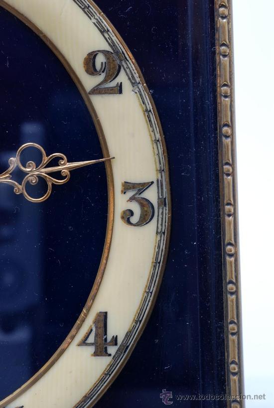 Relojes de carga manual: Reloj sobremesa a cuerda Decó Funciona - Foto 2 - 33059916