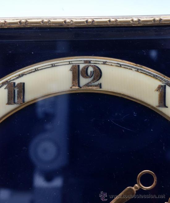 Relojes de carga manual: Reloj sobremesa a cuerda Decó Funciona - Foto 3 - 33059916