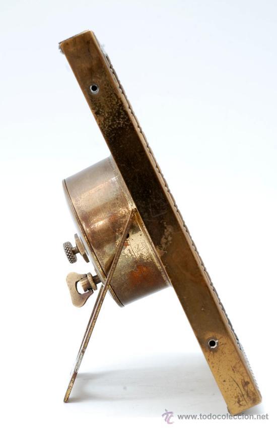 Relojes de carga manual: Reloj sobremesa a cuerda Decó Funciona - Foto 4 - 33059916