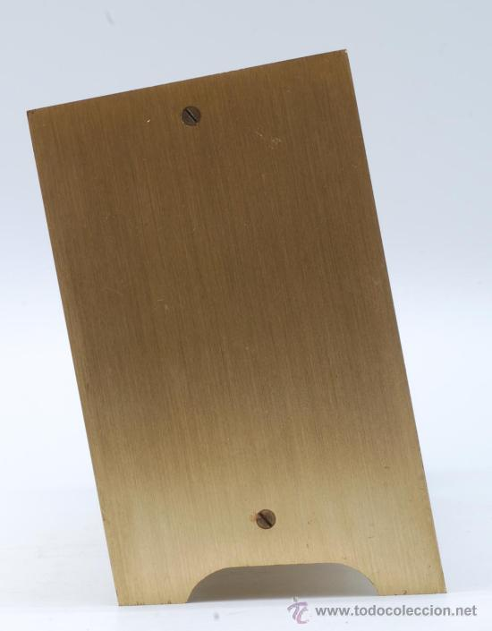 Relojes de carga manual: Reloj sobremesa en metal dorado Staiger Quarzt años 70 Funciona - Foto 3 - 33059821