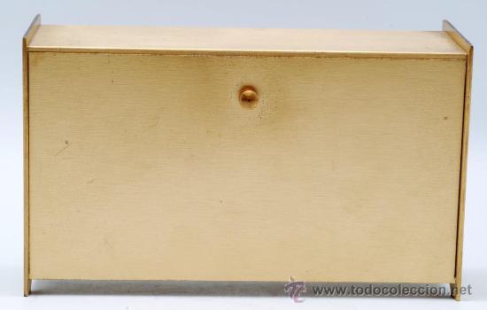Relojes de carga manual: Reloj sobremesa en metal dorado Staiger Quarzt años 70 Funciona - Foto 4 - 33059821