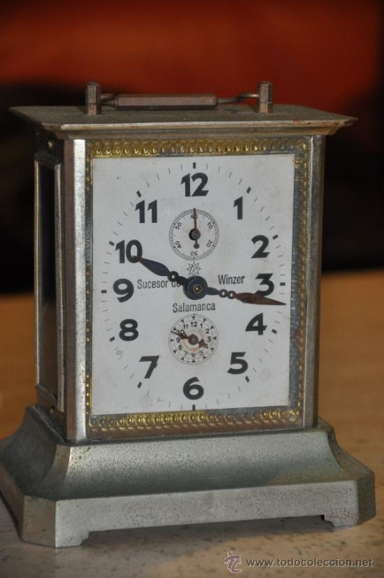 Antiguo reloj de sobremesa junghans wurttember comprar - Relojes de sobremesa antiguos ...