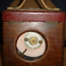 Relojes de carga manual: ANTIGUO RELOJ CRONÓMETRO COLOMBOFILO PARA CARRERAS DE PALOMAS, COULET EXCELSIOR, 20X20CM. Lote 43588752
